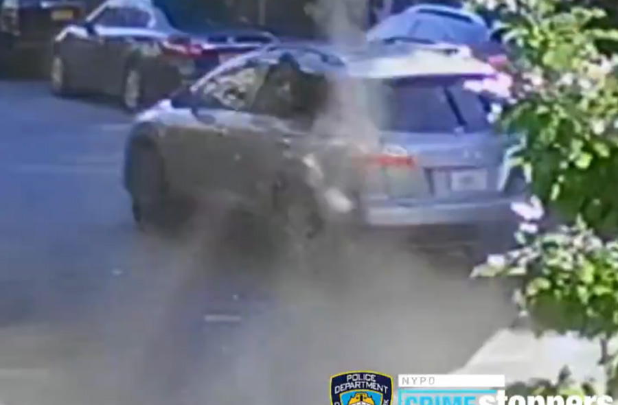 NYC Lawlessness Continues as Car Drives on Sidewalk to Avoid Gang-Related Shooting Attempt
