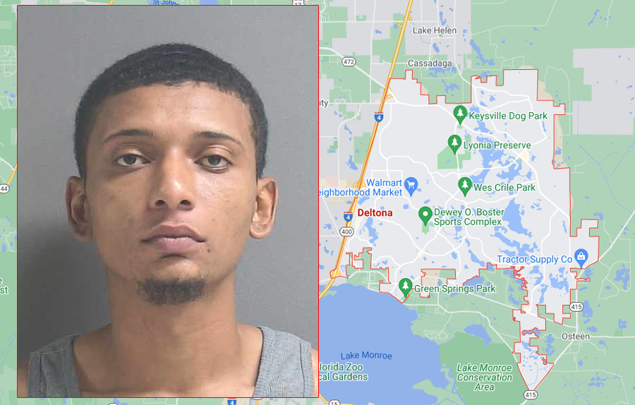 Anderson Cantres, 25, and his younger brother, a minor, were arrested Sunday after an investigation into the Saturday night shooting in Deltona. Deputies responded there around 10:30 p.m. Saturday on a report of a vehicle shot several times. The victims weren't injured.