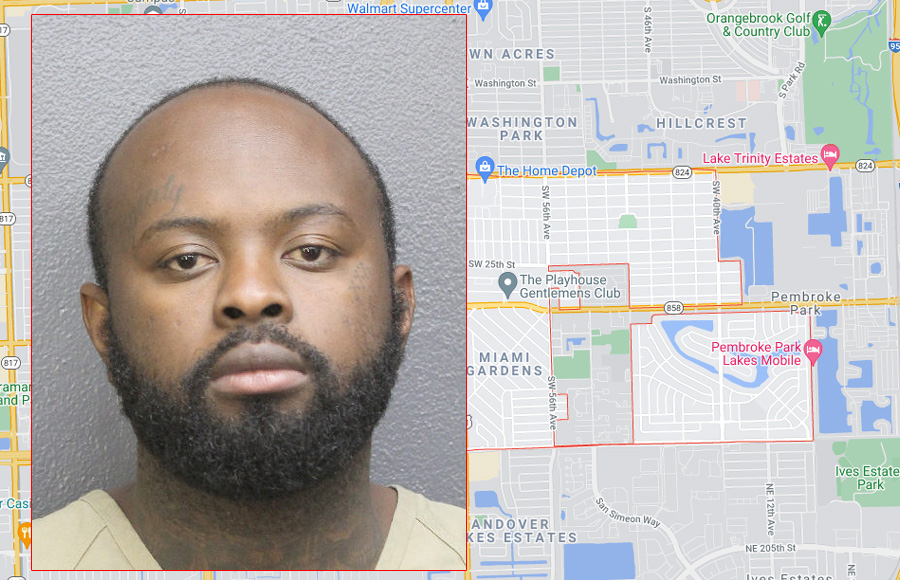 According to authorities, Risson Beaubrun, 27, was residing at a stash house in West Park that housed multiple firearms, including rifles, ammunition and body armor were discovered at the home.