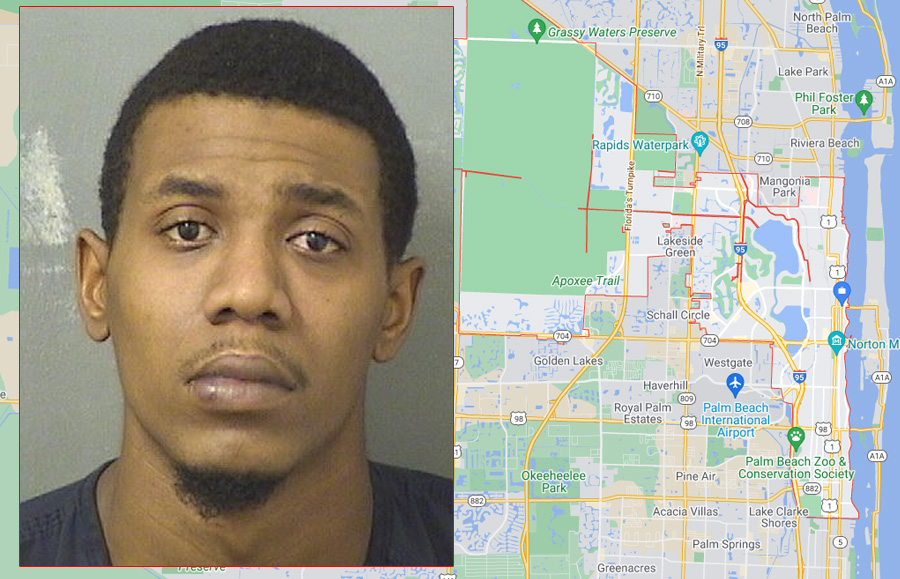 According to authorities, Brandon Cowins,26, was arrested and charged with First Degree Murder. He was transported to the Palm Beach County Jail where he is being held with no bond.
