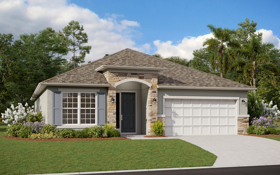 Located just south of Davenport near many Central Florida attractions,Cypress Park Estatesoffers a small-town feel right in the center of Hanes City – Polk County's third largest city, according to Gerry Boeneman, president of Dream Finders Homes' Central Florida division.