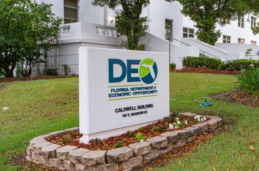 The Florida Department of Economic Opportunity in Tallahassee FL. File photo: Felix Mizioznikov, Shutterstock.com, licensed.