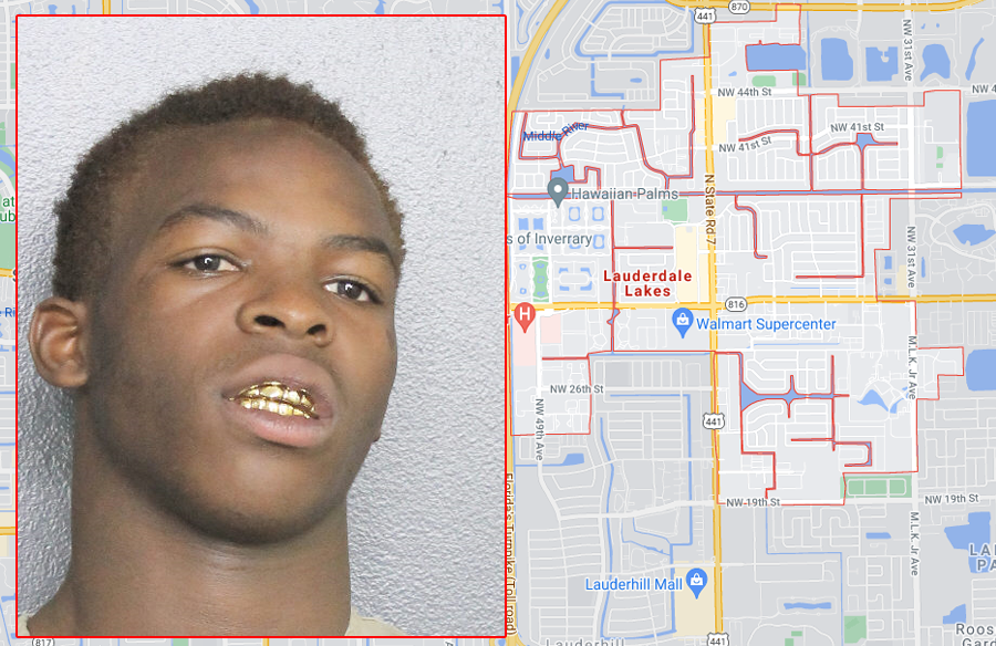 According to investigators, Edwin Hankerson, 18, n was arrested in Pompano Beach on Thursday, July 15. He faces one count of armed robbery with a firearm and one count of aggravated battery with a deadly weapon.