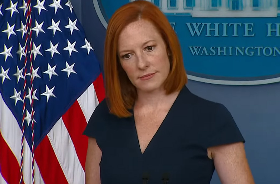 White House press secretary Jen Psaki denied that any changes were forthcoming at her Thursday press conference.