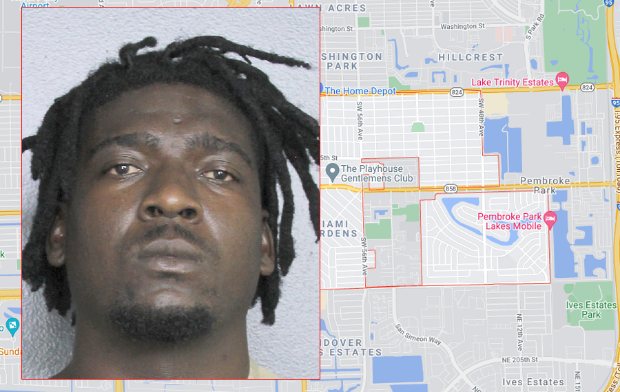 Kenyon Key, 25, of Fort Lauderdale, was detained on scene and following an investigation, was arrested for first degree murder.
