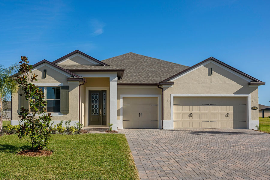Many of M/I Homes' single-level floor plans offer optional bonus rooms, and homebuyers can choose to have the owner's suite either up or downstairs in some two-story plans,