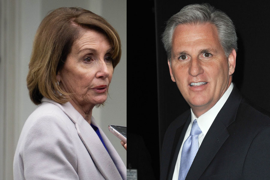 House Minority Leader Kevin McCarthy (R-CA) was highly critical of the decision of House Speaker Nancy Pelosi (D-CA) to reinstate the mask mandate Congress, citing the fact that neither the Senate or local DC government have issued any mandates of their own yet.