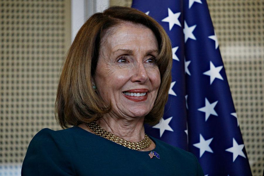 Nancy Pelosi in Brussels, Belgium, February 18th, 2019. File photo: Alexandros Michailidis, Shutterstock.com, licensed.