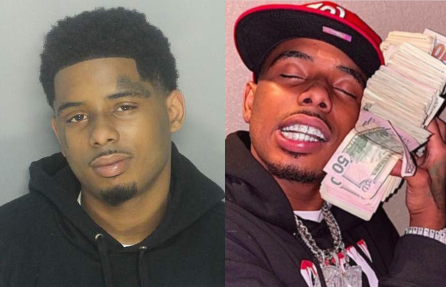 21-year-old Tennessee rapper Lontrell D. Williams (a/k/a Pooh Shiesty) be held without bond in a federal detention center pending trial on charges that he participated in a shooting of two men during a street purchase of marijuana and high-end sneakers. Photo: MDPD / SOUNDCLOUD.