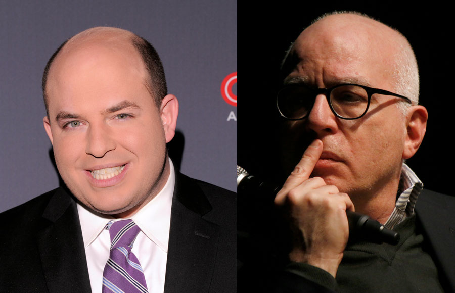 During a segment of Reliable Sources, CNN's Brian Stelter challenged author Michael Wolff over a claim in Landslide that Fox News owner Rupert Murdoch personally made the decision to call Arizona in President Joe Biden's favor on election night, a charge the network has fiercely denied.