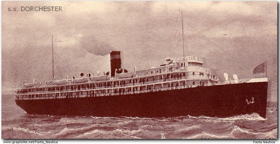 By the official (and undisputed) count, there were 260 survivors. Among them, were several of the last to escape the sinking U.S.A.T. Dorchester. Photo: Courtesy of the US Veterans Administration Archives