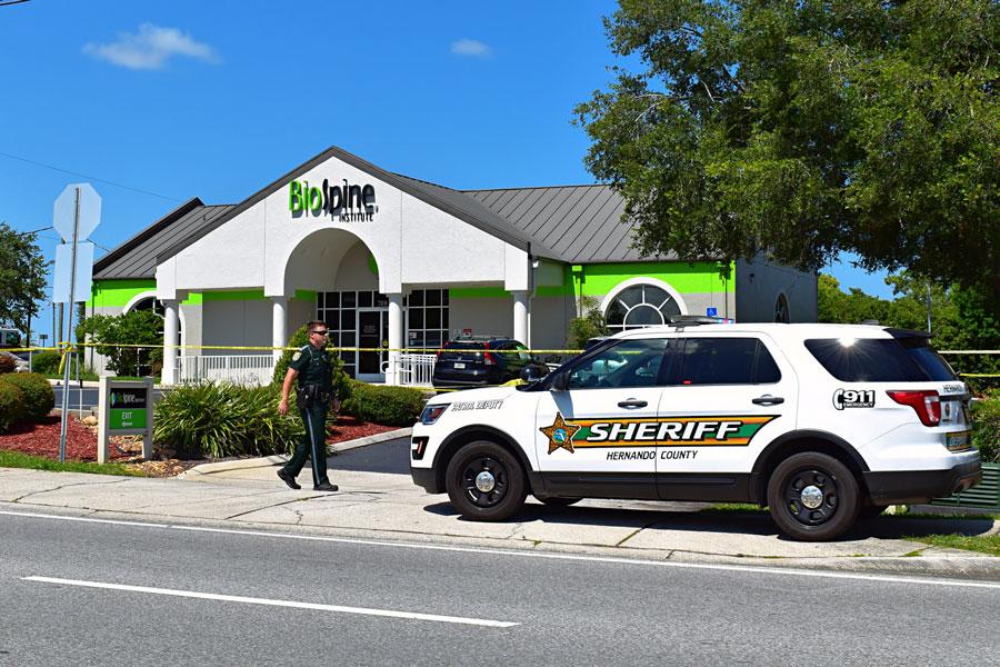 BioSpine Institute, 7101 Mariner Boulevard in Brooksville.Photo:: Hernando County Sheriff's Office.