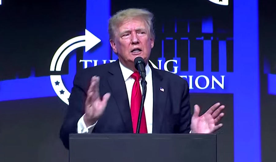 """Former US President Donald Trump on Saturday in Arizona called on American's to get the Covid-19 vaccine saying, """"I recommend you take it but I also believe in your freedoms 100 percent."""" He also spoke out against New Zealander Laurel Hubbard, who is set to become the first transgender athlete to compete at the Games after she was selected for the New Zealand team in the women's super-heavyweight 87+kg category. Trump referred to Hubbard as 'he', while voicing disapproval over her inclusion in the women's section of the Games. """"Men are being allowed to compete in women's sports, how do you like that? Think of that, how fair is that? Did you see the weightlifter? I hate to tell you this, women, but he shattered your long standing record. This guy gets up, boom boom. Like a nine year record. Sonny a nine year record, boom. Did he do it with one hand, you know? It's so unfair."""" Trump also repeated his false claim that he lost the 2020 election due to fraud. SUBSCRIBE ➤ http://bit.ly/FollowST -------------------- WEBSITE ➤ http://www.straitstimes.com TWITTER ➤ https://twitter.com/straits_times FACEBOOK ➤ https://www.facebook.com/TheStraitsTimes INSTAGRAM ➤ https://www.instagram.com/straits_times PODCASTS ➤ http://str.sg/stpodcasts TELEGRAM ➤ https://t.me/straitstimes The Straits Times, the English flagship daily of SPH, has been serving readers for more than a century. Launched on July 15, 1845, its comprehensive coverage of world news, East Asian news, Southeast Asian news, home news, sports news, financial news and lifestyle updates makes The Straits Times the most-read newspaper in Singapore."""
