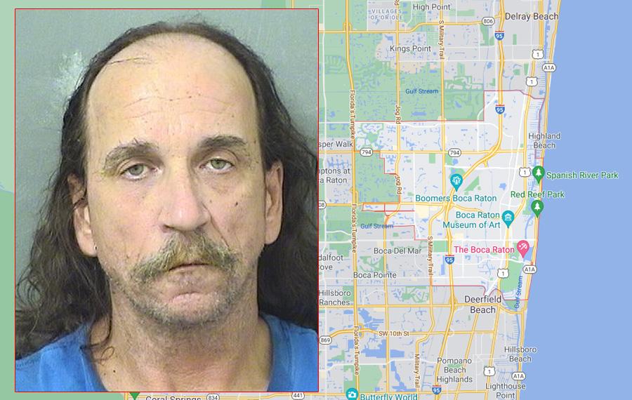 Anthony Allen Cesany, 54, of  Boca Raton, a