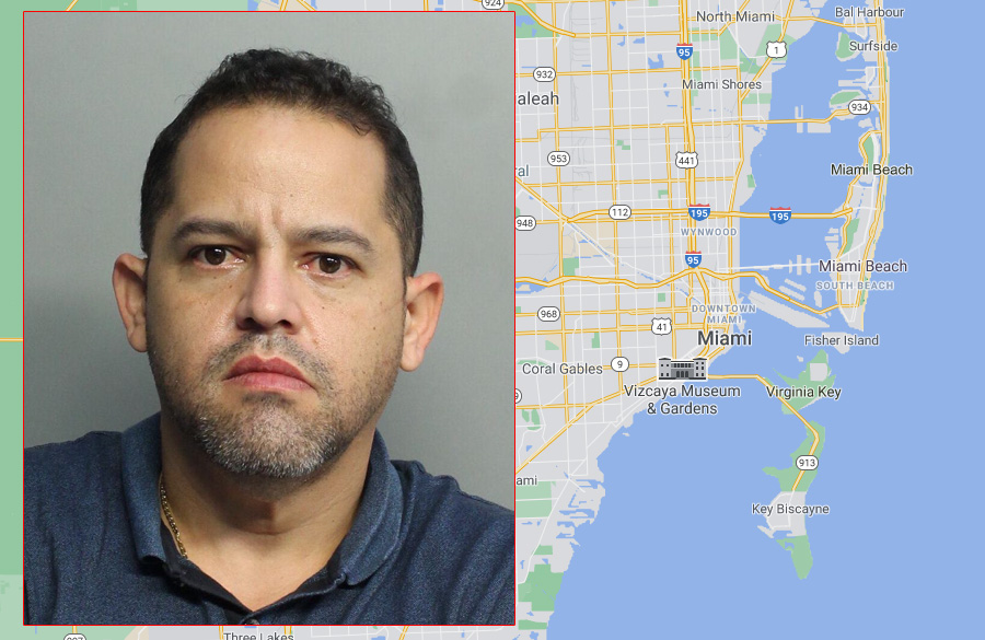 Alejandro J. Quintero, 41, of Doral, was charged with organized scheme to defraud and odometer altering or tampering of a motor vehicle.