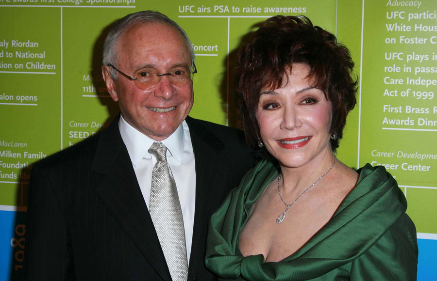 Stewart Resnick and Lynda Resnick at the UFC'S 2007 Brass Ring Awards Dinner honoring Lynda and Stewart Resnick and Linda Daly. Beverly Hilton Hotel, Beverly Hills, CA. File photo: S Bukley, Shutterstock.com, licensed.