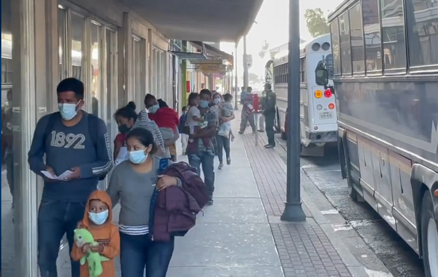 McAllen officials say that DHS has released more than 1,500 COVID infected immigrants just last week; officials are aware of their positivity due to tests conducted by a third-party vendor, American Medical Response.