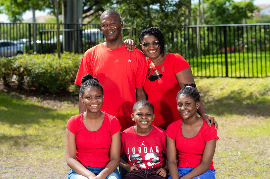 Wells Fargo's $15,000 grant to Habitat Broward will help provide the Moreaus, a hard-working family of seven, with a home of their own in A Rick Case Habitat Community in Pompano Beach.