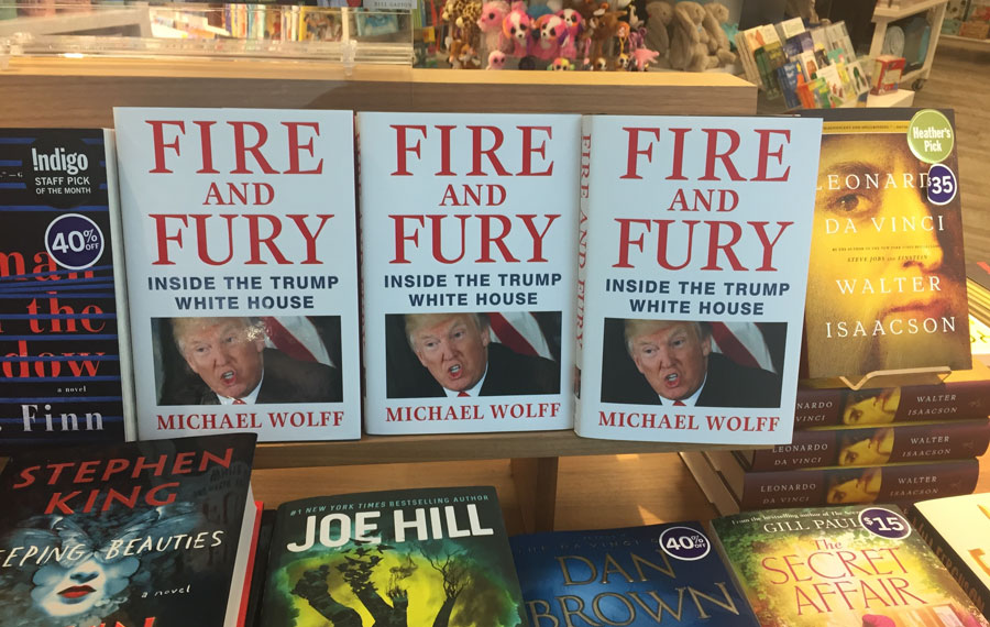 As a New York Times best-selling author myself, I fully understand the cycle in which political books are strategically written and leaked, for the tabloid-type media and fit to leave their particular imprimatur on all things Trump.
