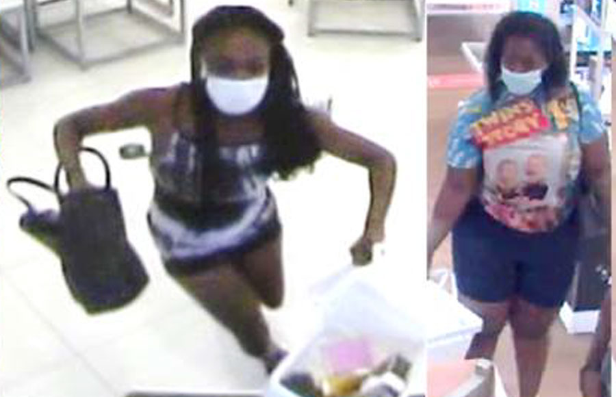 According to authorities, the suspects entered the store and helped themselves to miscellaneous perfumes and colognes and fled the store. The store suffered a loss of over $1,200.