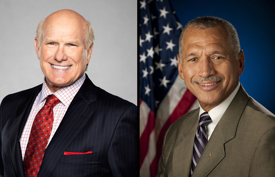 The Florida Forum Speaker Series features four-time Super Bowl champion and broadcaster Terry Bradshaw on October 26, 2021 and Maj. Gen. Charles F. Bolden, Jr., a retired Marine officer, astronaut and former NASA Administrator, on November 17, 2021