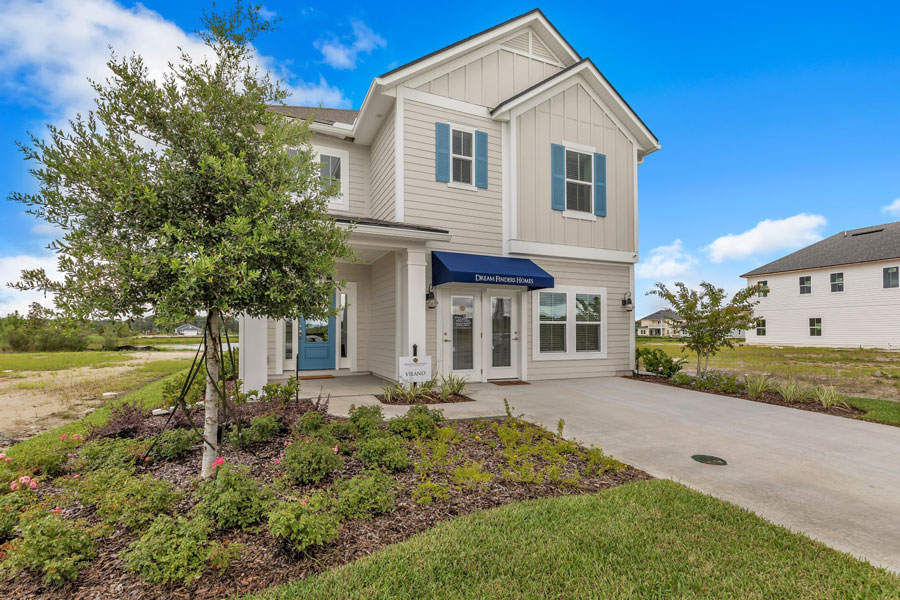 The homebuilder's Vilano model atTrailmarkis open for viewing at366 Ferndale Way. The two-story Vilano with four bedrooms, three full bathrooms, loft or optional fifth bedroom in 2,500 square feet of living area is base priced at $419,990.