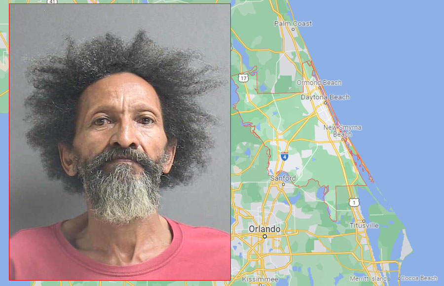 Randy Crowder, 62, was charged with aggravated battery with a deadly weapon and transported to the Volusia County Branch Jail, where he was being held Friday morning on $5,000 bond.