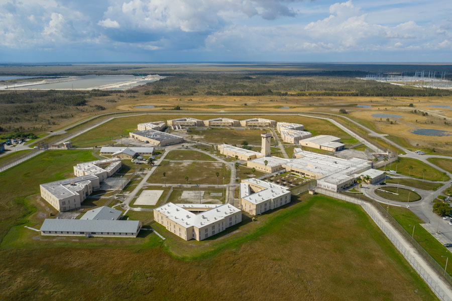 South Florida Reception Center, a prison located in Doral, Florida