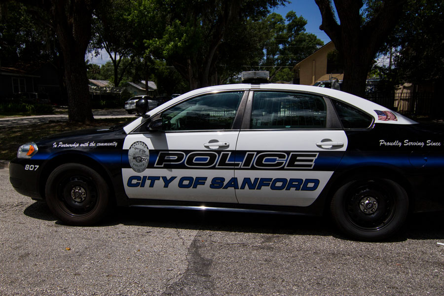 The Sanford Police Department employs approximately 140 sworn police officers alongside 24 other employees, and a Police Chief.