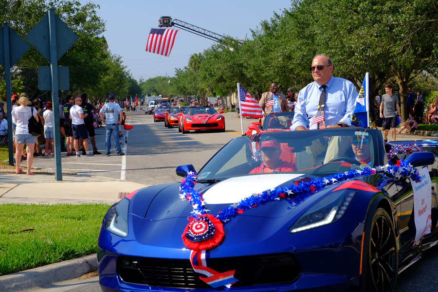 The Memorial Day Parade in Sanford, Florida on May 27, 2019. File photo: Wil Sas, Shutterstock.com, licensed.