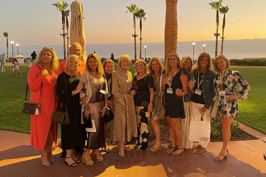 Berkshire Hathaway HomeServices Florida Network Realty's top producers celebrated at the Summit Conference in Coronado, California.