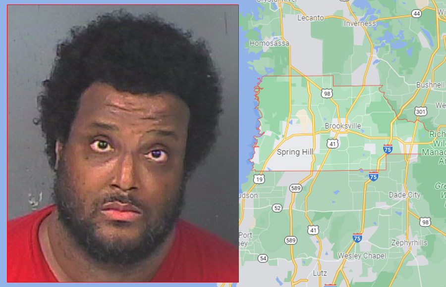 According to authorities, Trevor Dooley Jr., 43, walked toward deputies while pointing a knife