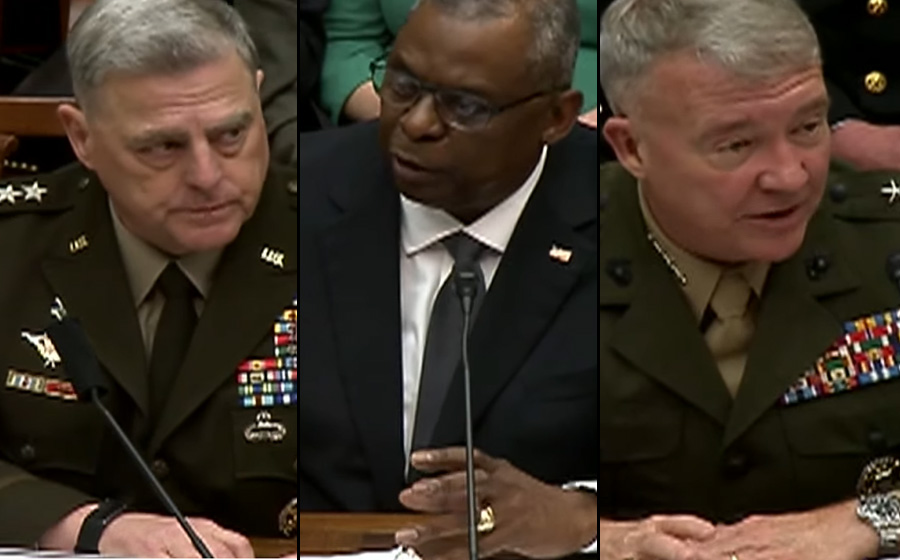 Tuesday, several high-ranking members of the military stated in sworn testimony thatPresident Joe Biden ignored requests from his top generalsto maintain a minimum troop presence in Afghanistan after the U.S. withdrawal to prevent the Taliban from taking over the country.