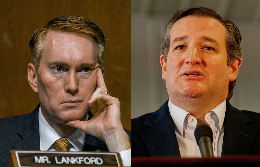 GOP members including James Lankford (OK) and Ted Cruz (TX) back the bill