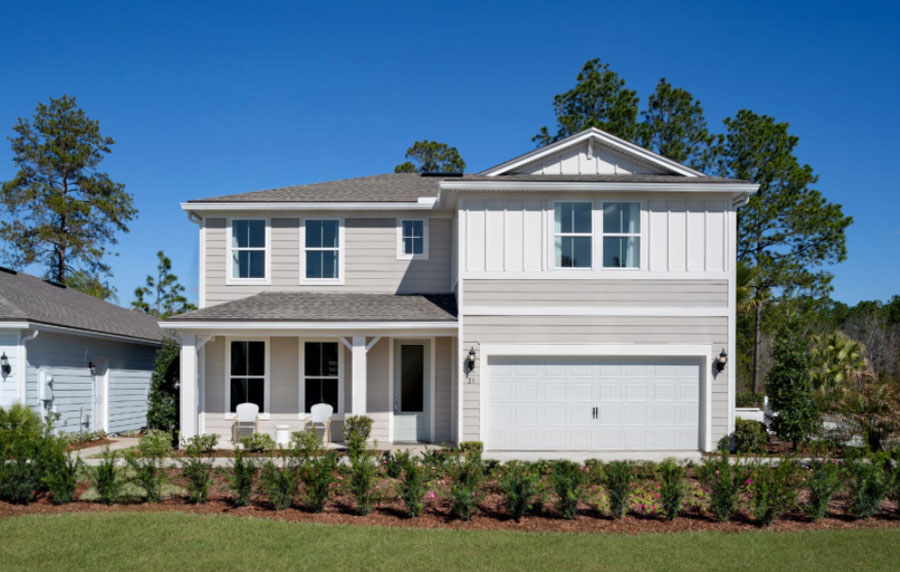 Pulte Opens Two Model Homes At New St. Johns County Community, The Trails At Grand Oaks