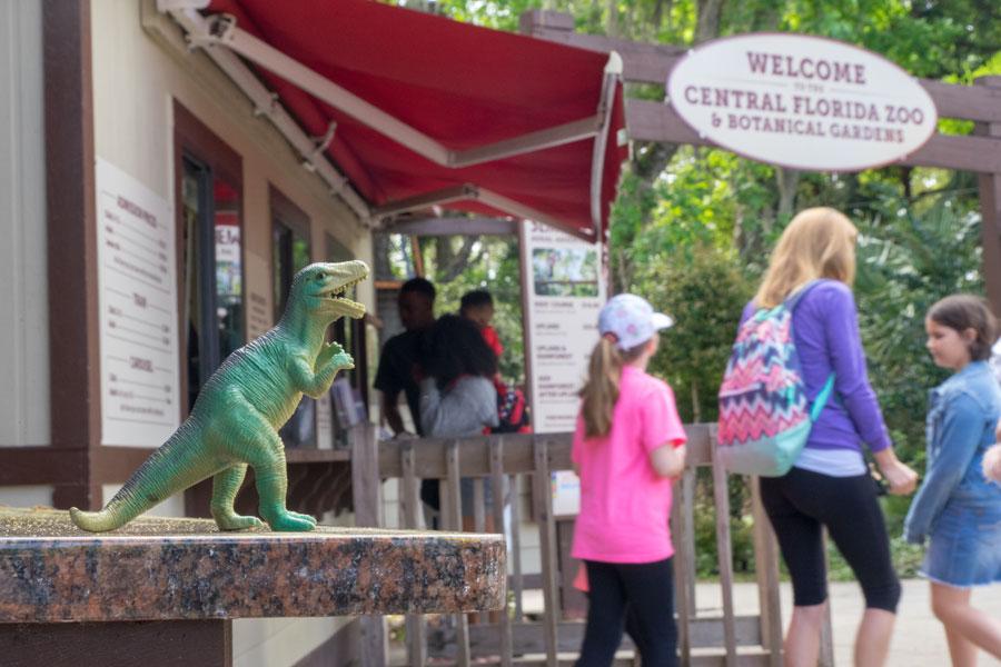 The Central Florida Zoo and Botanical Gardens is a 116-acre zoo and botanical garden located north of Orlando, Florida in Sanford. File