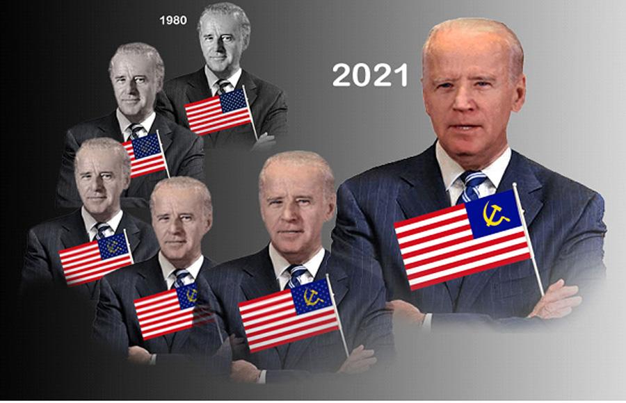 The Evolution Of Todays Socialist, Anti-American Democrat