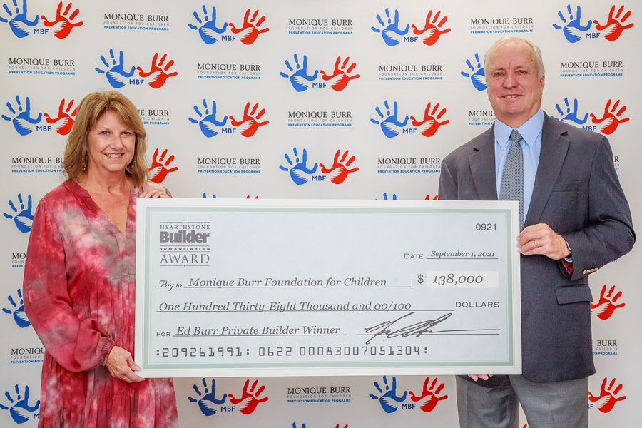 Ed Burr Of Greenpointe Holdings Receives Hearthstone Builder Humanitarian Award