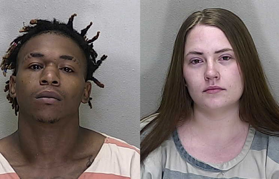 Timothy Mack (left) is a Violent Felony Offender of Special Concern, under Florida law, and 22-year-old Alexa Newton (above) vehicle.