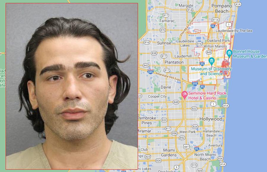 Paul Nicholas Miller, 33, of Fort Lauderdale, Florida